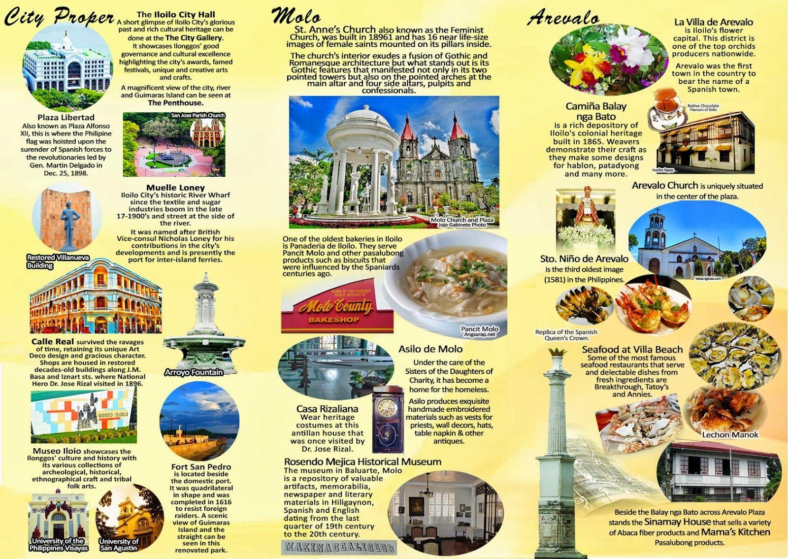 New Iloilo City Tourism Brochure Now Available For Download Iloilo Dinagyang 2015 Jeetu