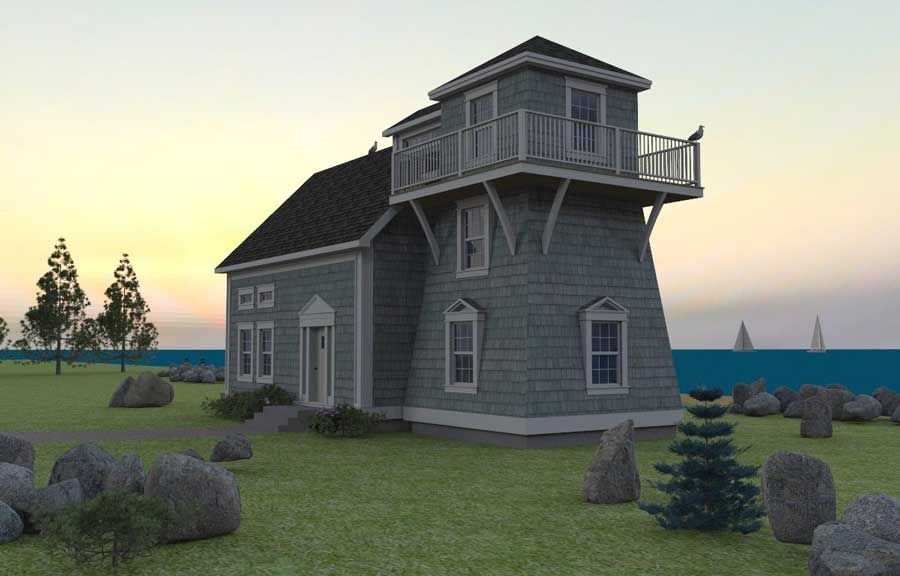 beach house plans - Beach House Plans With Tower