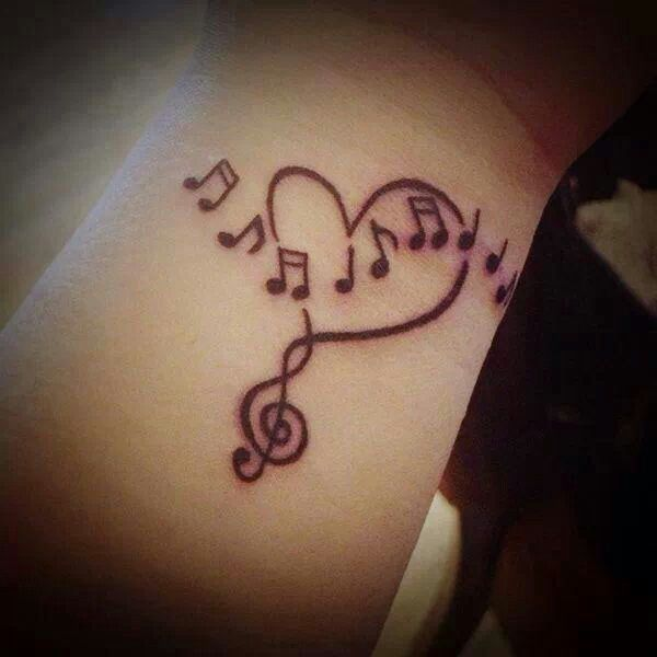 Music Note Tattoo Im Going To Need This One For My Next