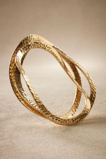 Hammered Bangle Set - Bracelets, Jewelry | Soft Surroundings