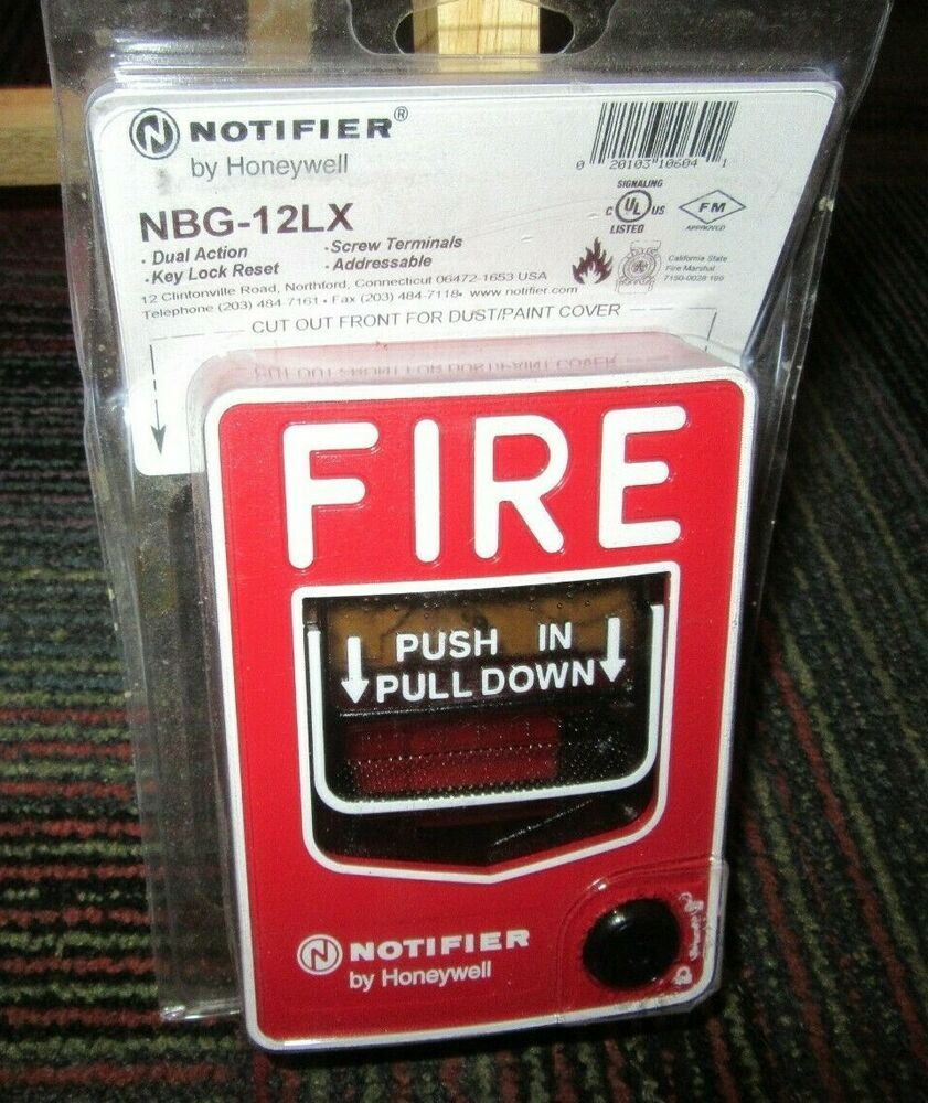 honeywell notifier manual fire alarm pull station nbg 12lx dual action niop honeywell [ 841 x 1000 Pixel ]