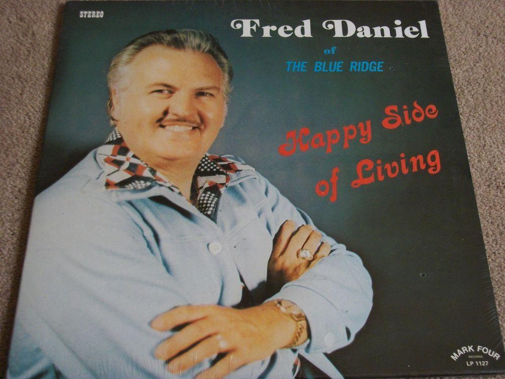 Fred Daniel / Happy Side Of Living / Sealed Vinyl Record Album / Mark Four 1127 #BlueRidge #GreenvilleSC #Gospel