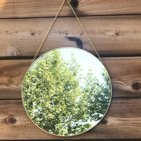 Koyal Wholesale Gold Modern Round Wall Mirror With Detachable Hanging Chain Table Mirror For Centerpiece Vanity Mirror In 2020 Round Wall Mirror Vanity Wall Mirror Mirrors Wayfair
