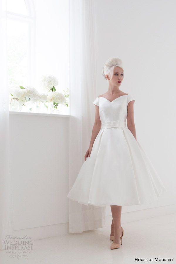House of Mooshki Spring 2015 Wedding Dresses | Rockabilly ...
