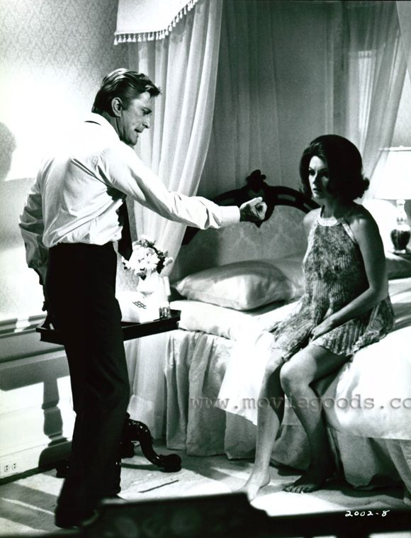 Kirk Douglas Sylva Koscina In A Lovely Way To Die