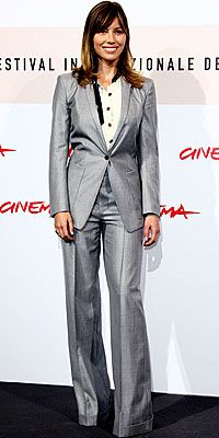 silver women suit - Google Search | 50 Power Suits for Power Women ...