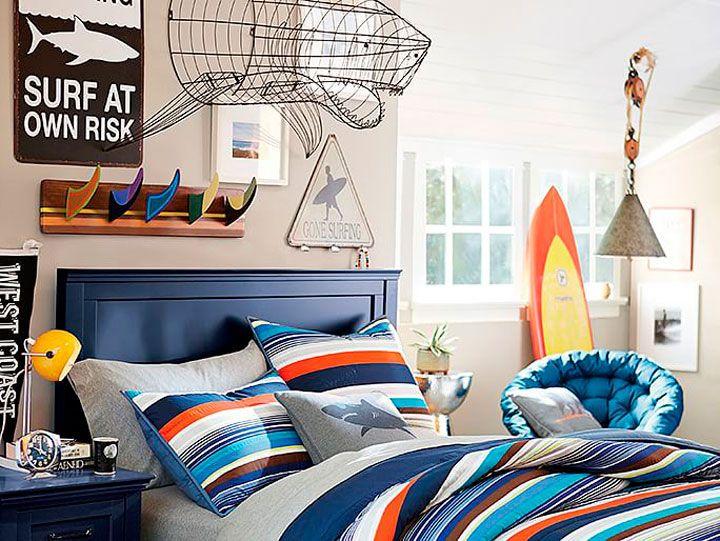 Dormitorios juveniles de chico ideas de decoración | paredes ...