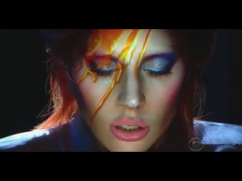 Lady Gaga - Tribute to David Bowie at 58th Grammy Awards