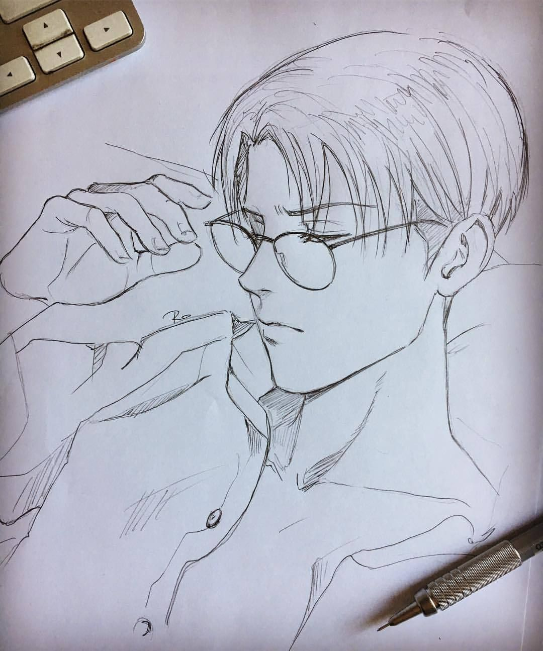 Captain Levi Ackerman The Most Badass Man Of Attack Of Titan Snk In 2021 Anime Boy Sketch Anime Drawings Boy Anime Character Drawing