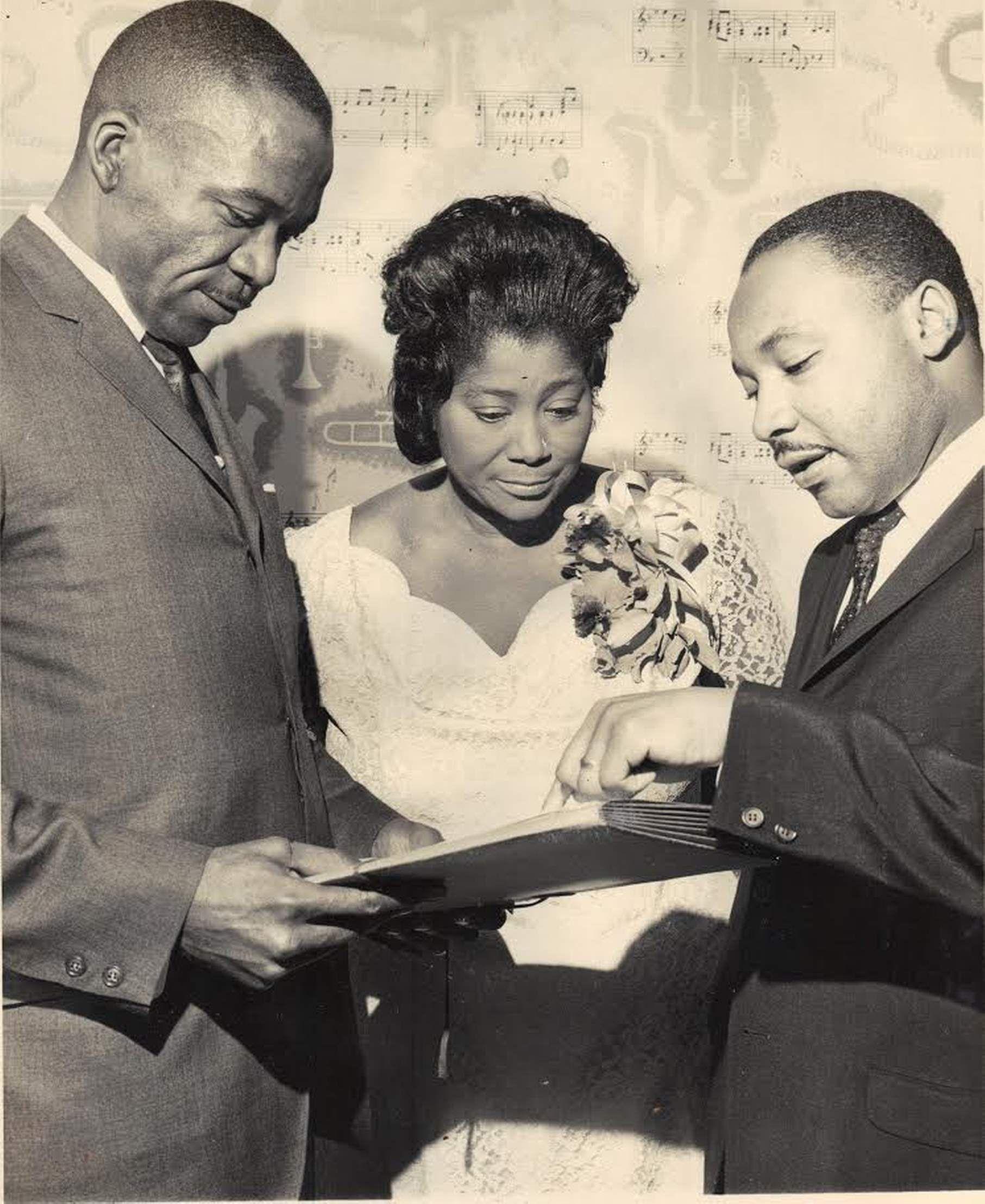 Mahalia Jackson Sang At Jfk S Inauguration And Mlk S