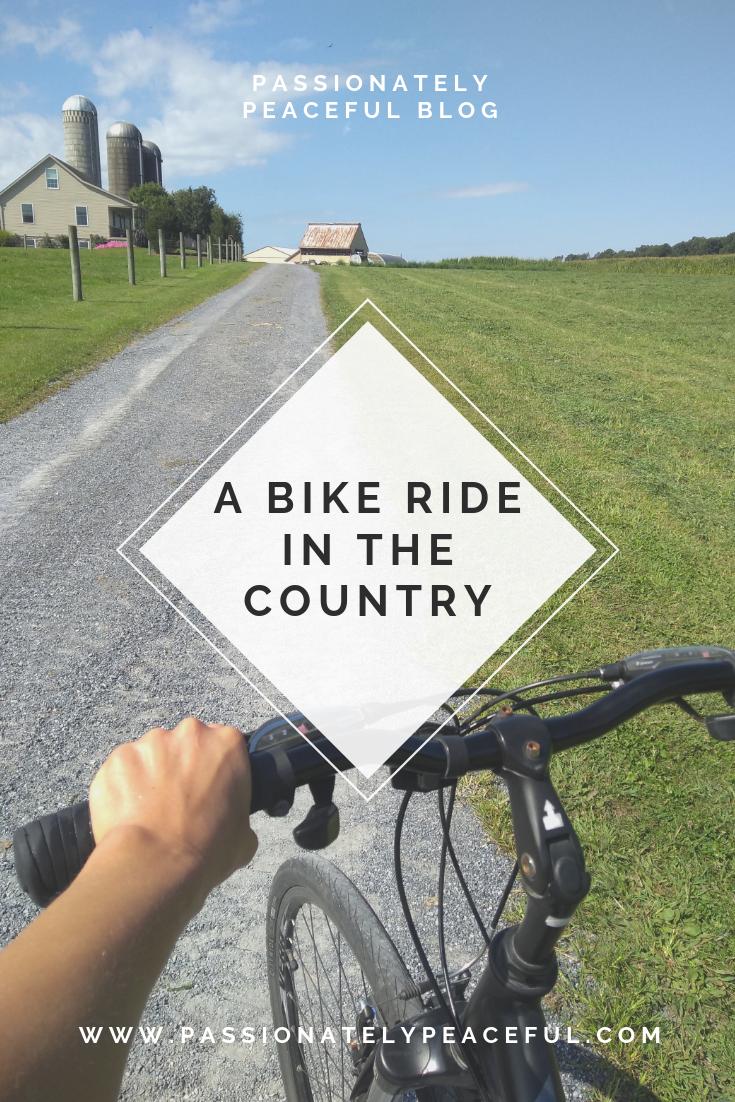 A Bike Ride In The Country Bike riding benefits, Bike