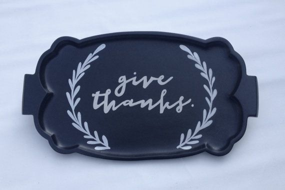 SOLD but can be made to order  Give Thanks by BelleMaisonMarket