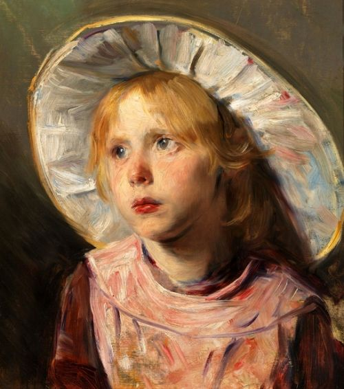 Bertha Wegmann (1847 – 1926, Danish) | I AM A CHILD
