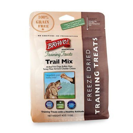 Bravo Premium Freezedried Training Treats For Dogs Trail Mix Pack