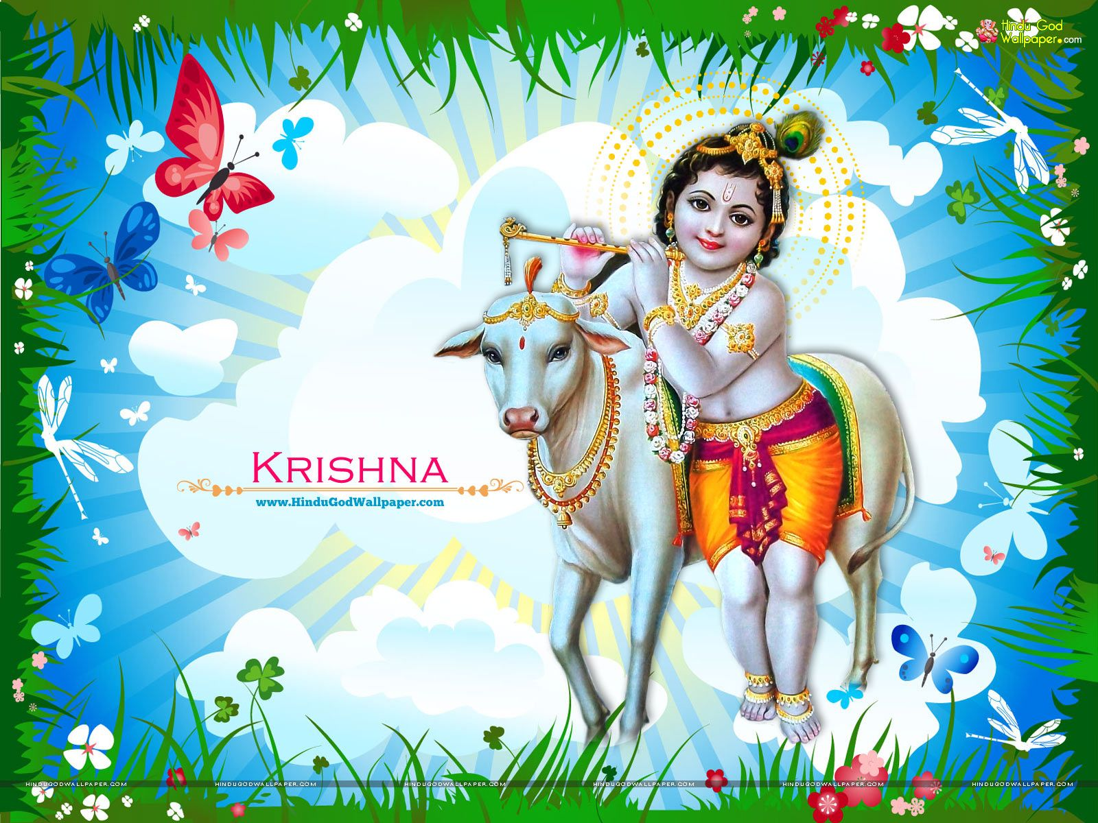 Shri Krishna Live Wallpaper Free Download With Images Lord