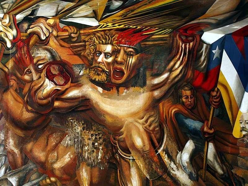 Obras De David Alfaro Siqueiros 5 Arte Mexicano Pinturas Murales