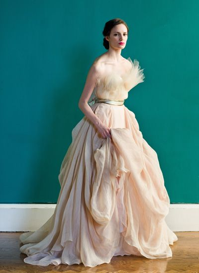 Gown of the Week: Grand Palais | Carol Hannah | Spring 2013 ...