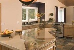Concrete Countertops Cost Compare Granite And Other Materials The Network