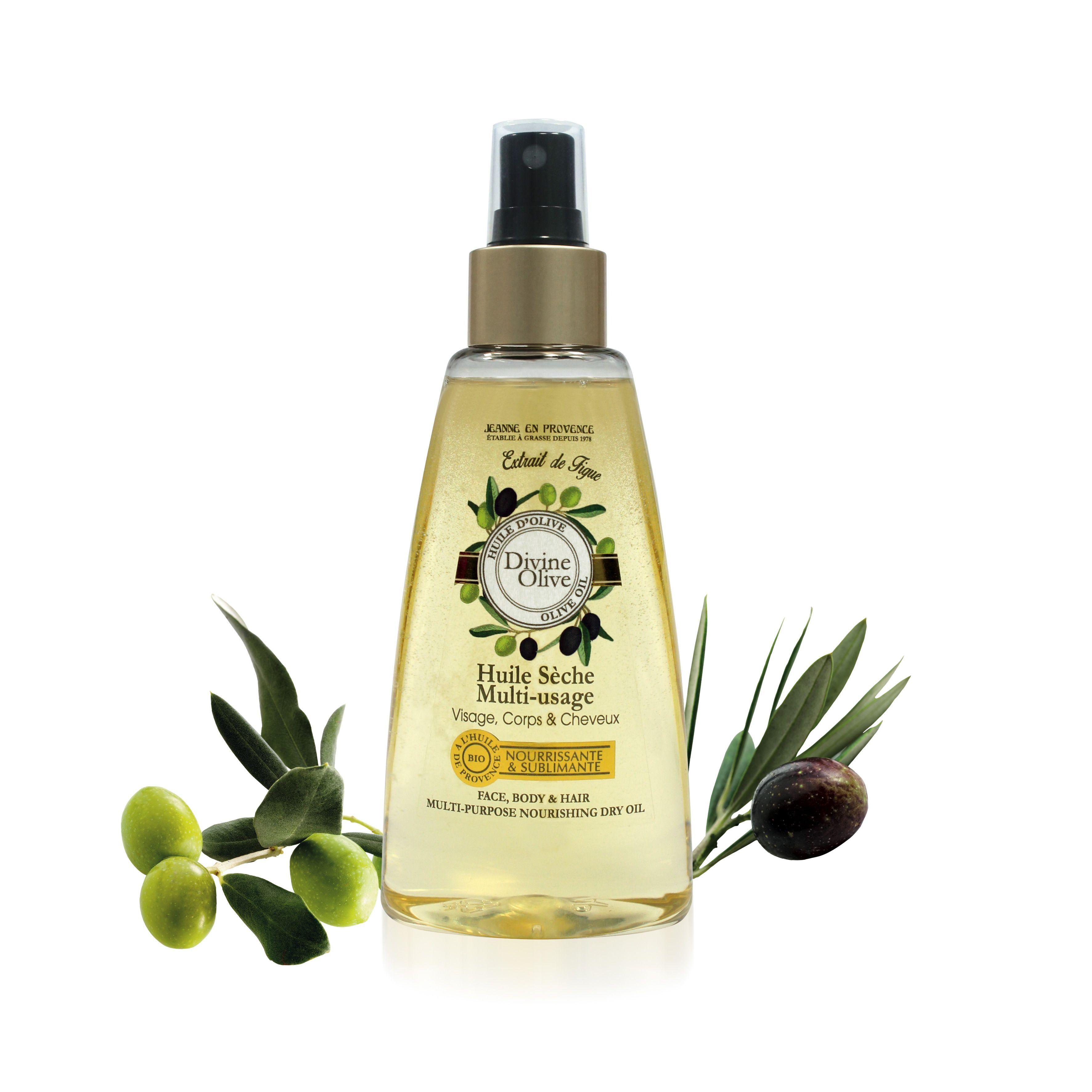 l huile s che divine olive est une huile multi usage pour le visage le corps et les cheveux. Black Bedroom Furniture Sets. Home Design Ideas