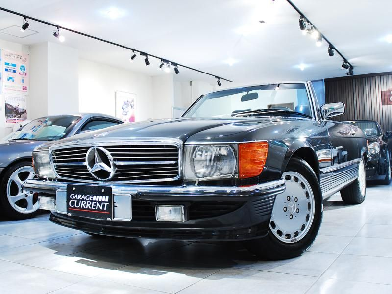 1988 mercedes benz 560sl r107 garage current. Black Bedroom Furniture Sets. Home Design Ideas