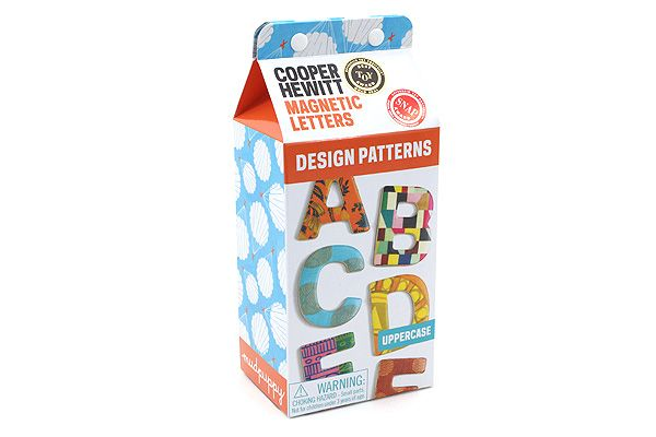 Galison+Design+Patterns+Wooden+Magnetic+Letters+-+Uppercase