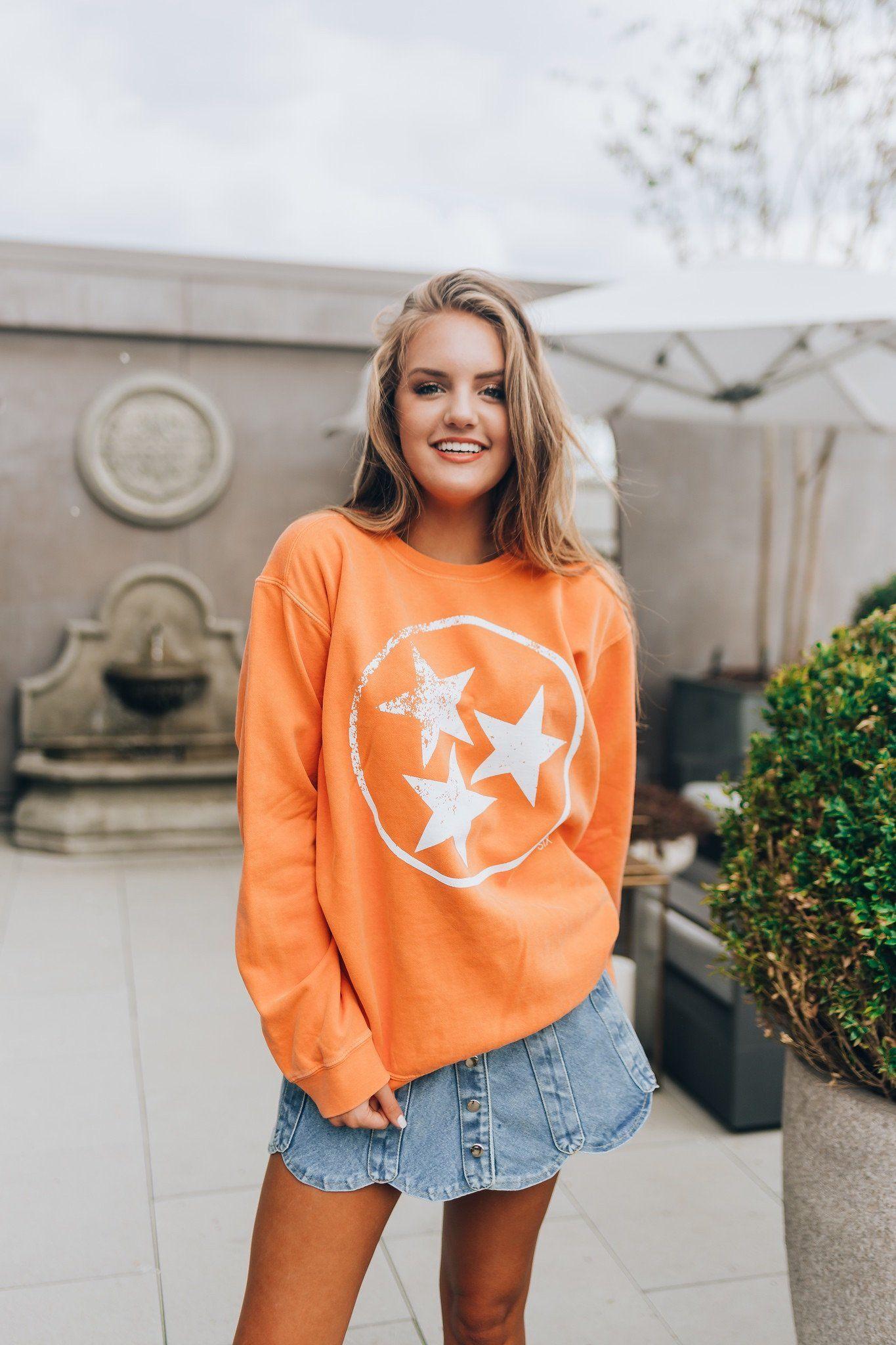 Tristar Orange Sweatshirt Orange Sweatshirts Sweatshirts Comfort Colors [ 2048 x 1365 Pixel ]