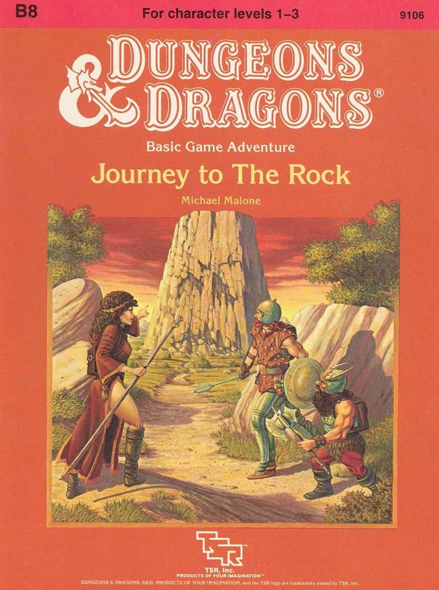 B8 journey to the rock basic book cover and interior
