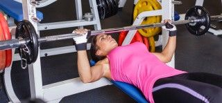 top 10 barbell exercises for women  chest workouts best