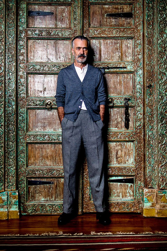 The greatly stylish Hooman Majd