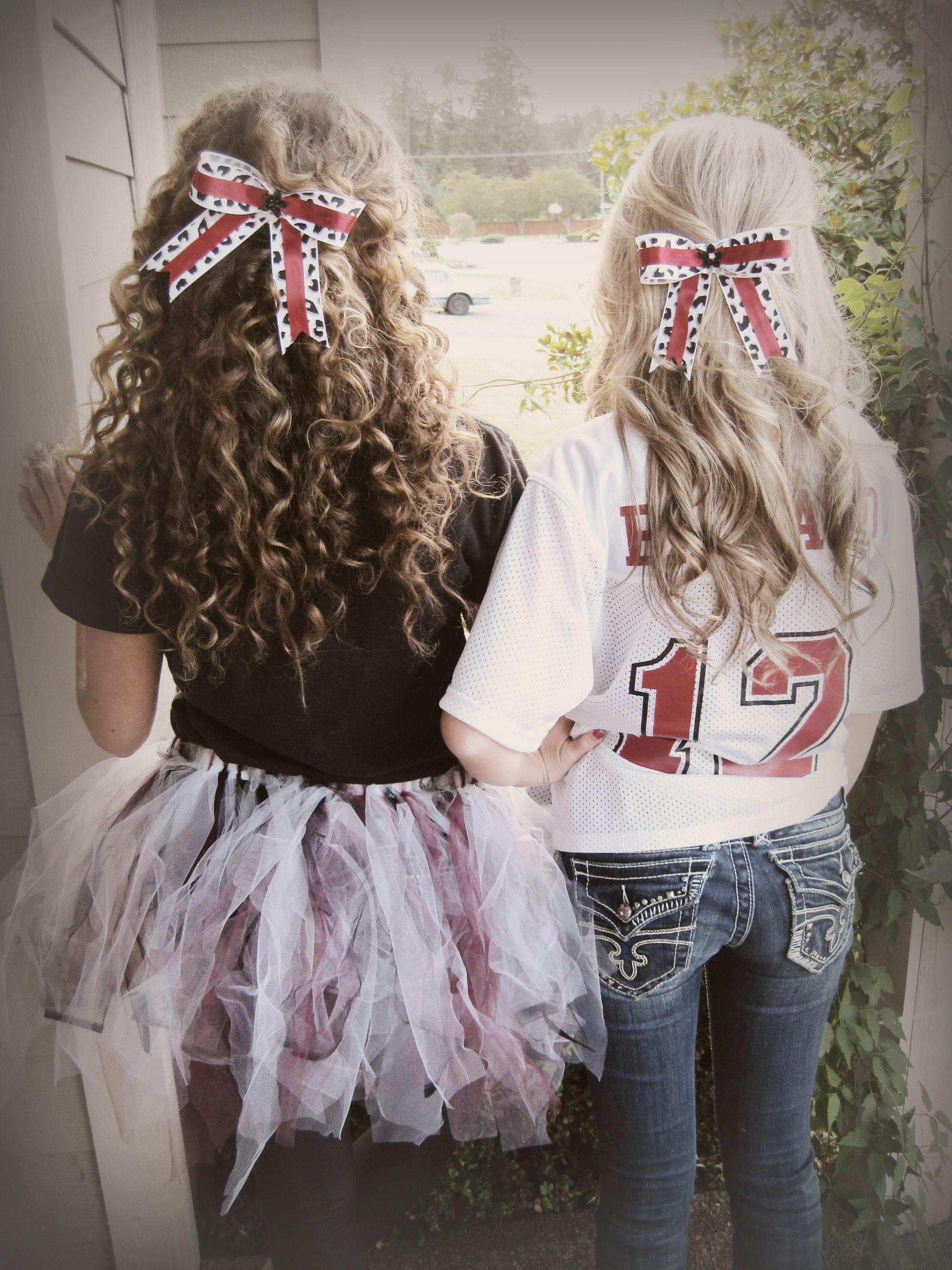 football game hair! | hair | homecoming games, homecoming