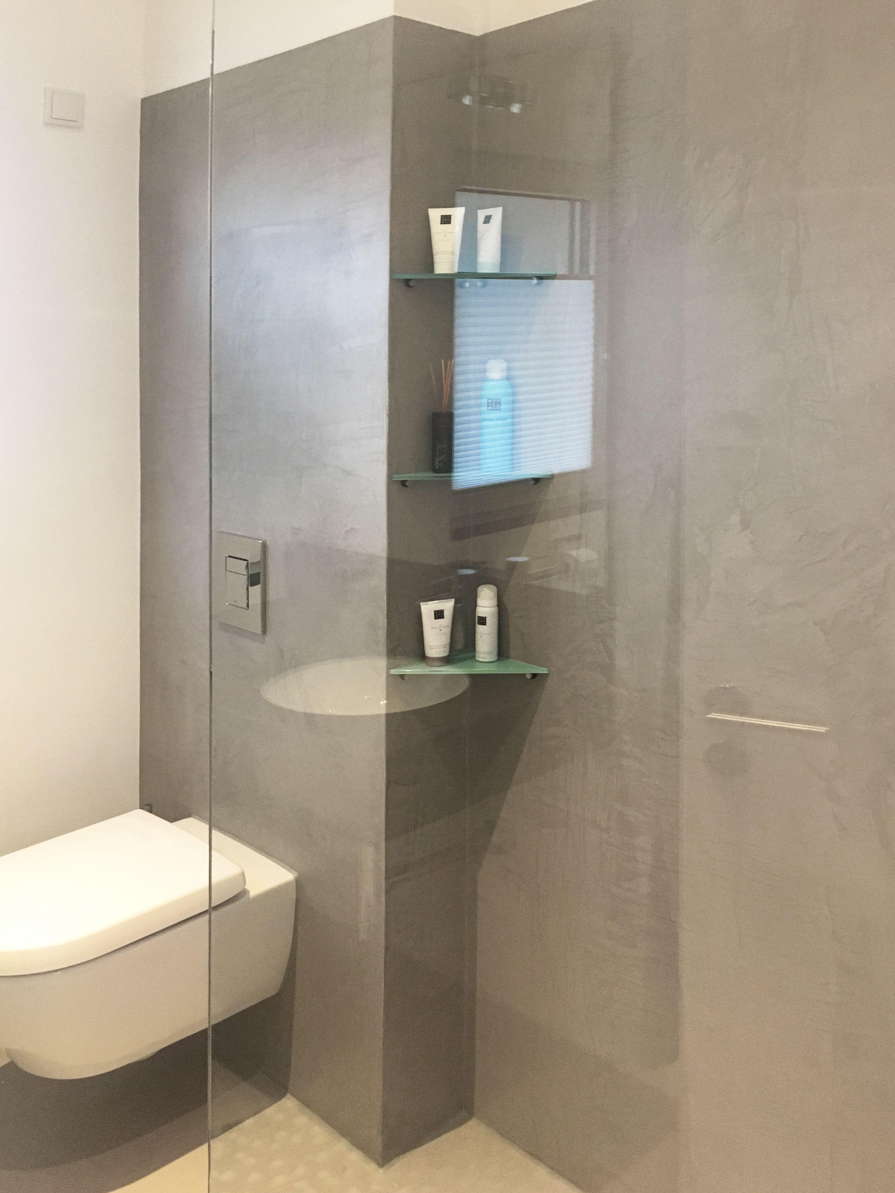 Fugenlose Badgestaltung - Fugenlose Oberflächen am Fussboden, Wand