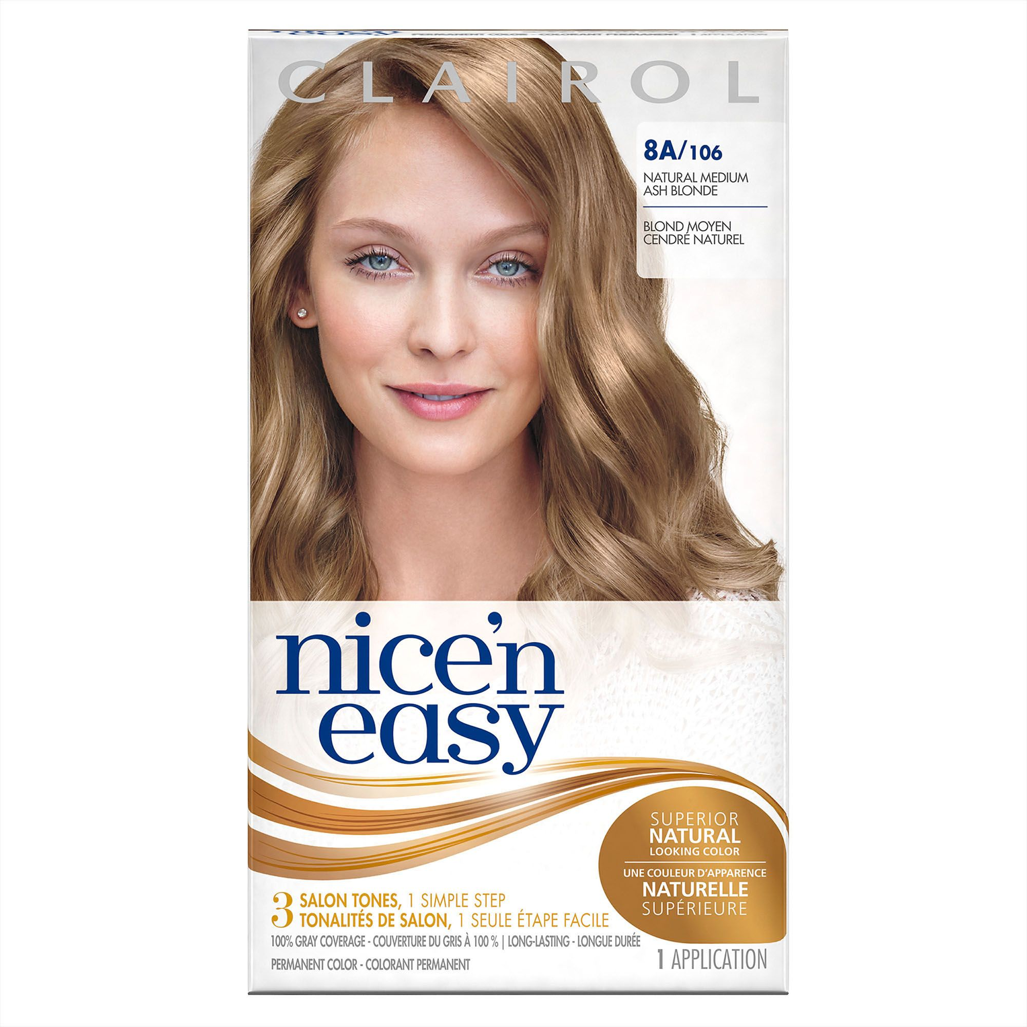 Beauty In 2020 Medium Ash Blonde Clairol Hair Color Medium Blonde