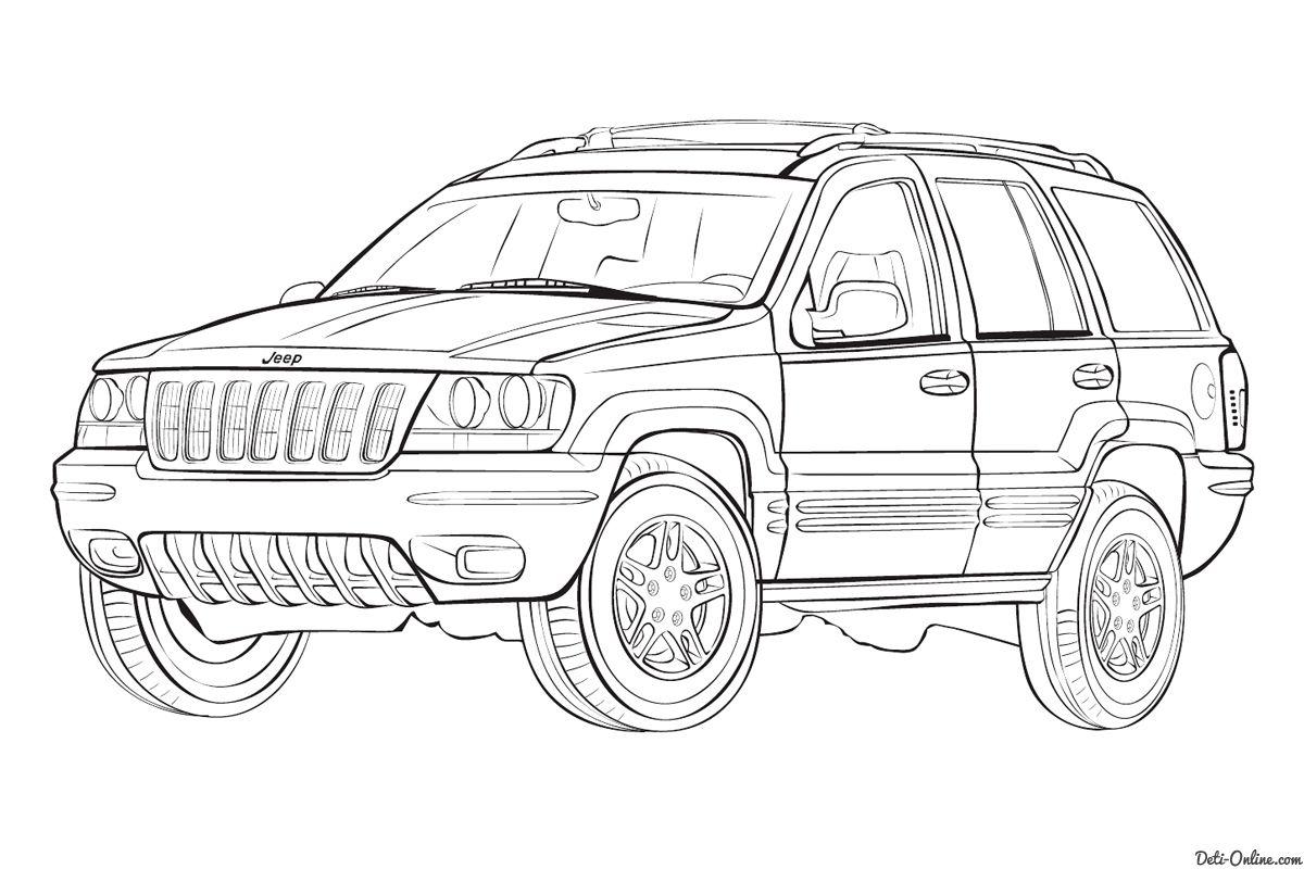 malvorlagen jeep