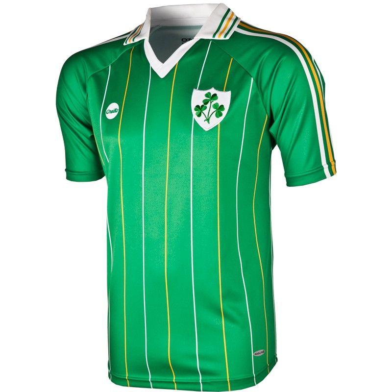 Ireland Retro Jersey (Home), O'Neills Soccer, O'Neills