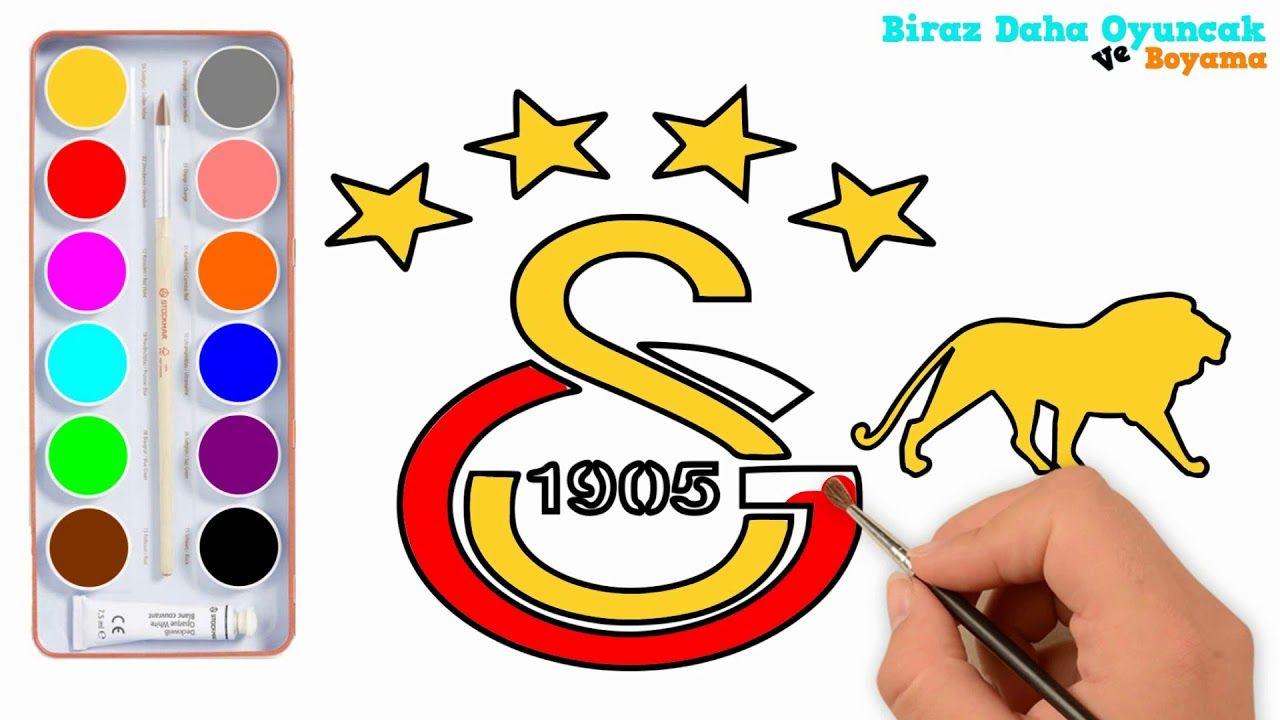 Galatasaray Logo Boyama çocuklar Için Boyama Videoları Youtube