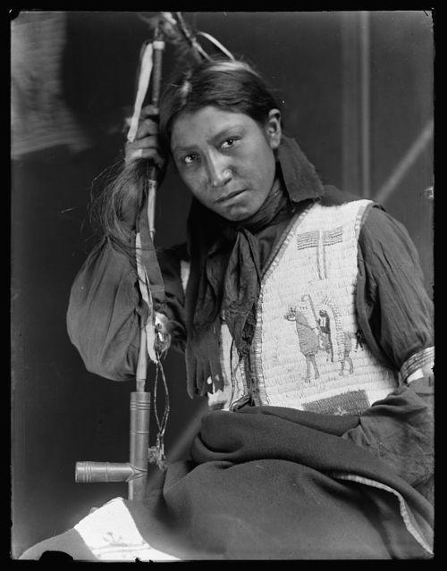 Gertrude Käsebier, American Horse, 1900.