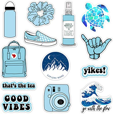 Amazon Com Vsco Vinyl Stickers Waterproof Aesthetic Trendy Vsco Girl Essential Stuff For Water Bottles Sticke In 2020 Girl Stickers Homemade Stickers Print Stickers
