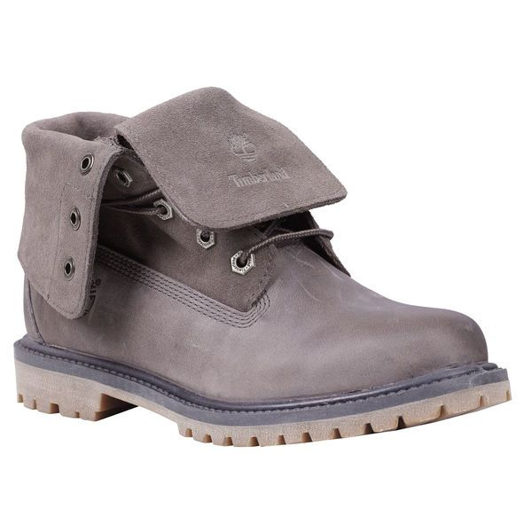 Women's Timberland Authentics Suede Roll-Top Boots - Timberland - wish list