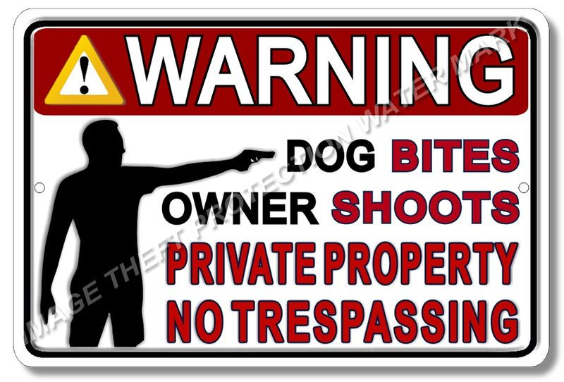 "UV Resistant Private Property Do Not Enter Aluminum 8/"" x 12/"" Sign"