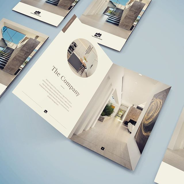 Brochure Layout For Luxury Home Builder Home Brochure Layout Graphicdesign Graphicdesigner Info Luxury Brochure Brochure Design Layout Brochure Design