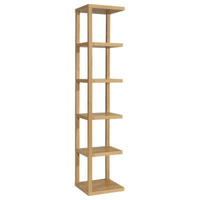 All Home Tari Tall Narrow Bookcase Reviews Wayfair Uk With