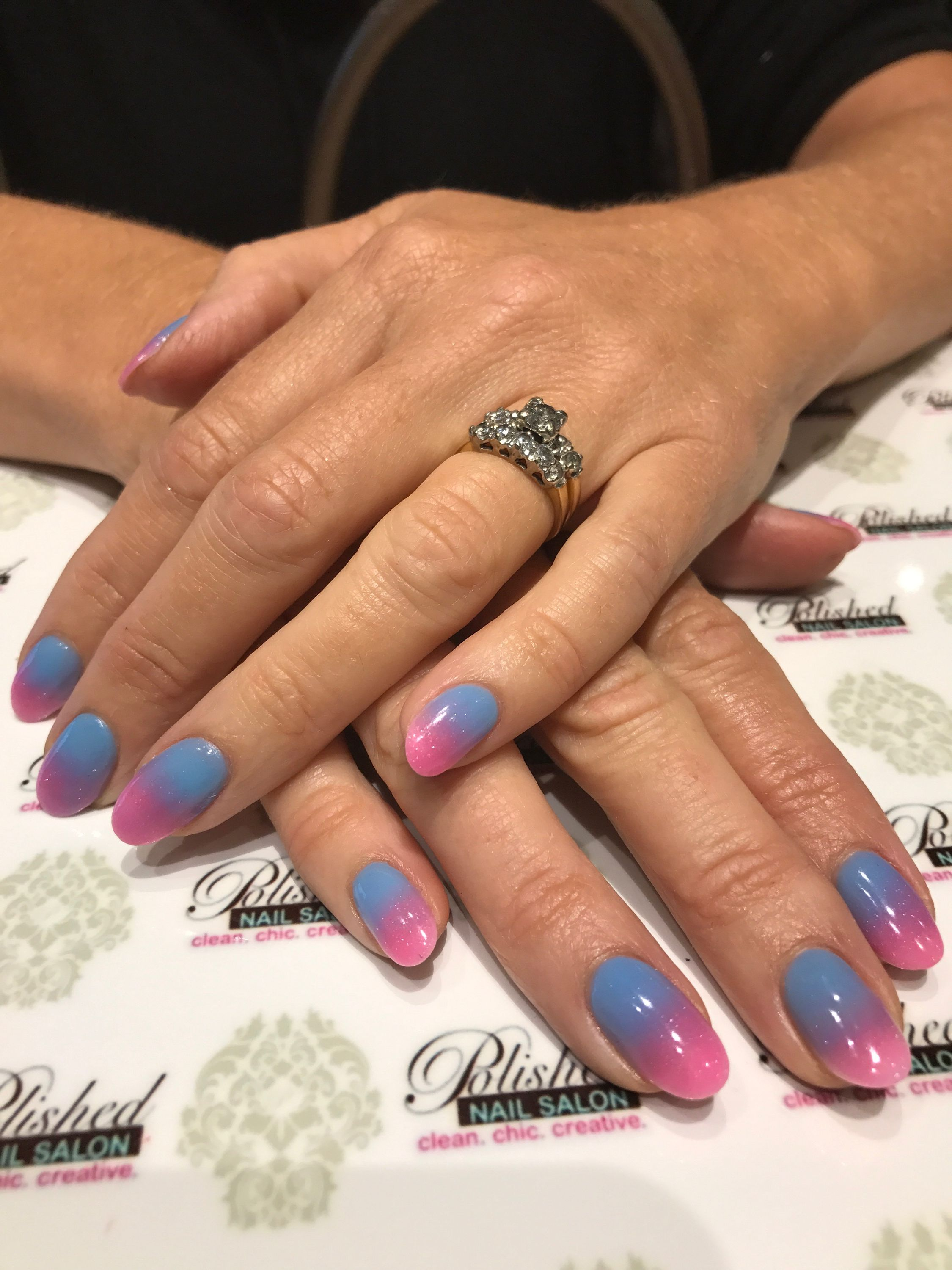 Pretty Ombre Polisheddip The Dipping Powder Is An Lighter And Healthier Alternative To The Traditional Liquid And Acrylic Nails Nail Polish How To Do Nails