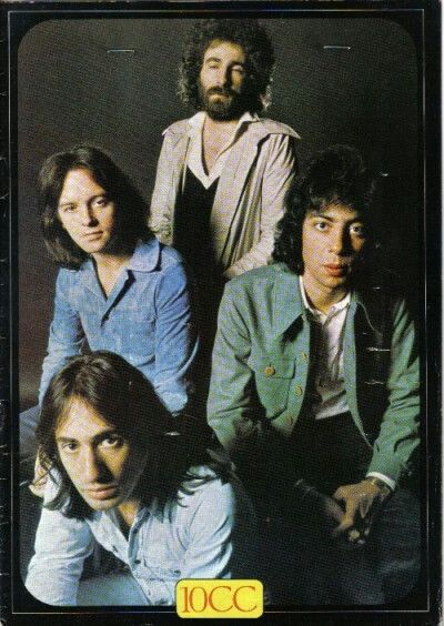 10 Cc Program For Free Trade Hall Concert 1975 Manchester Rock Music Rock And Roll Rock Legends