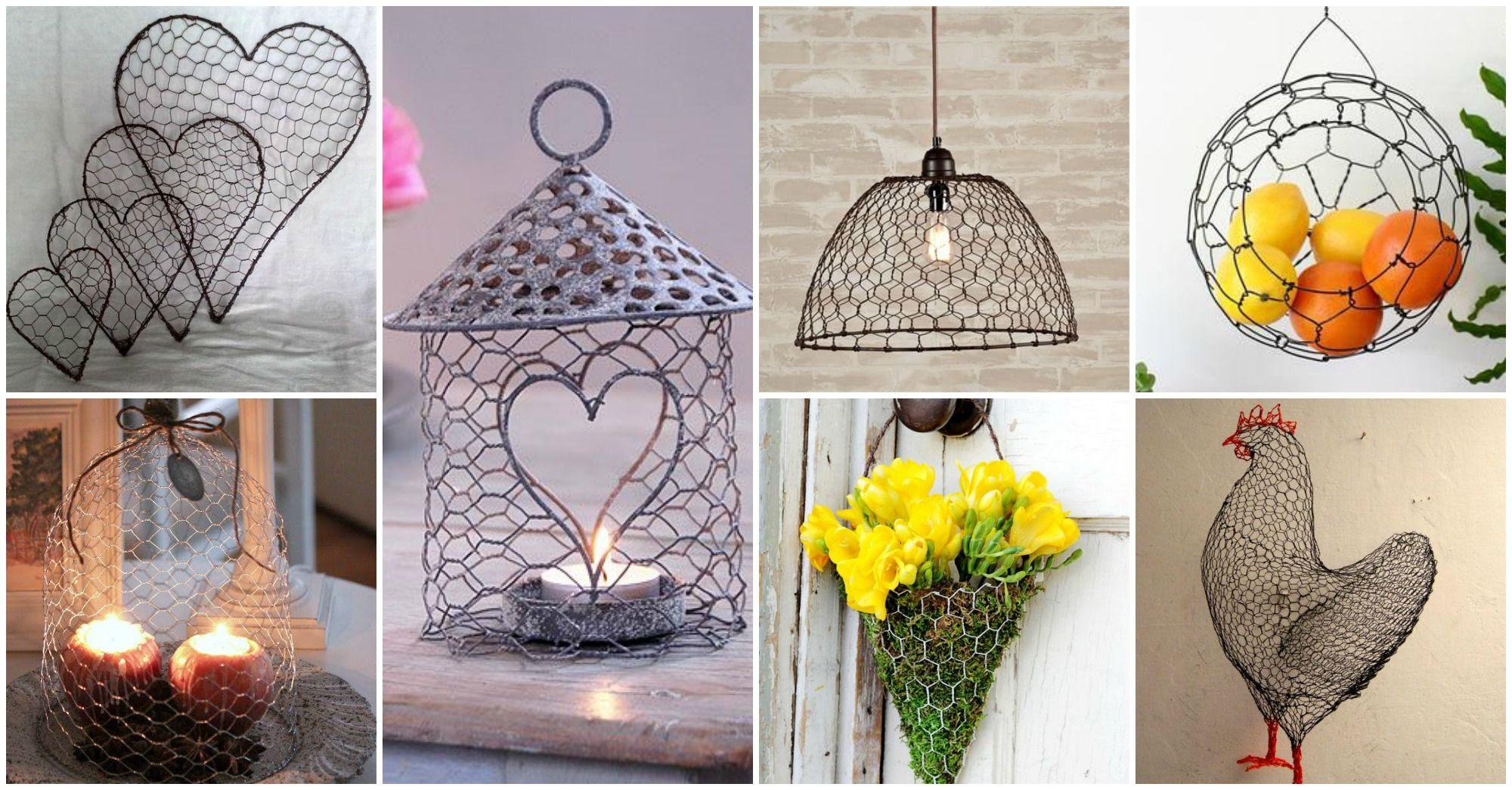 chicken wire crafts | Hasendraht Deko | Pinterest | Hasendraht ...