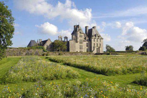 Chateau de Kerjean - Saint-Vougay, Finistere, Bretagne