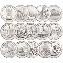2010 2012 National Parks Quarter Set 15 Coins Coins Old Coins American Coins