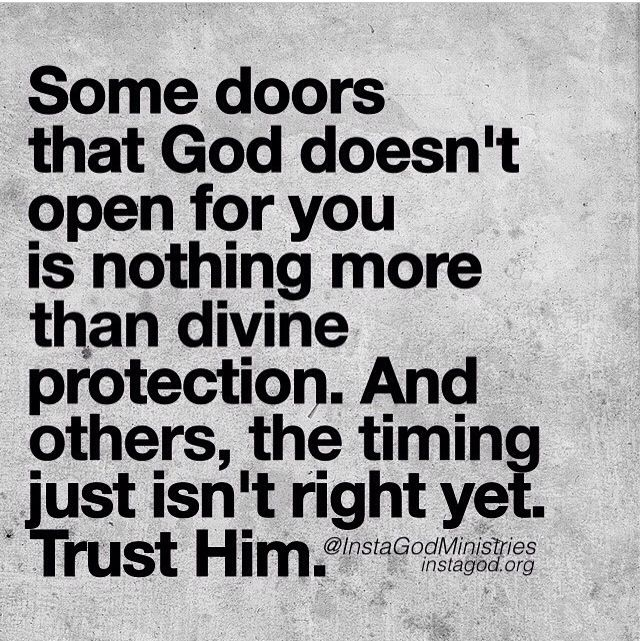 God And Divorce Quotes: Some Doors That God Doesn't Open...