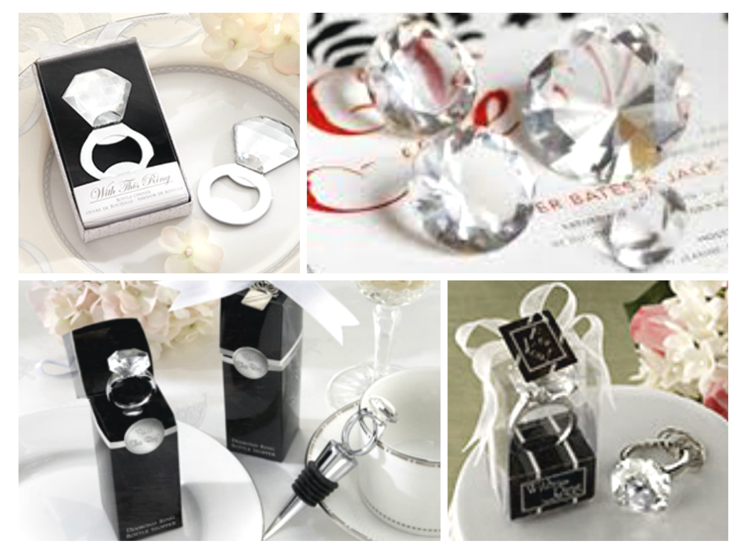 Add some panache to your special day with our elegant wedding favors ...