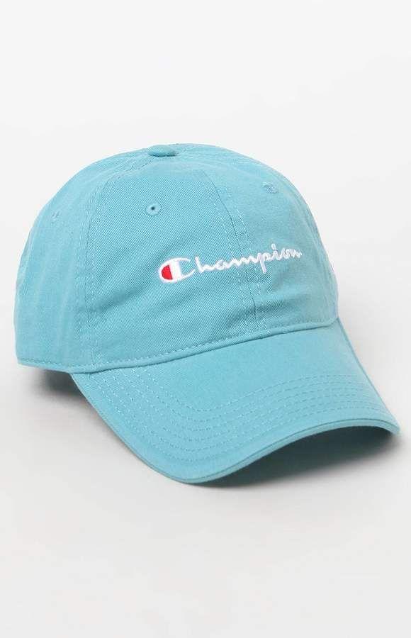 6d6c9b91 Champion Classic Blue Twill Dad Hat | Products | Hats, Dad hats ...