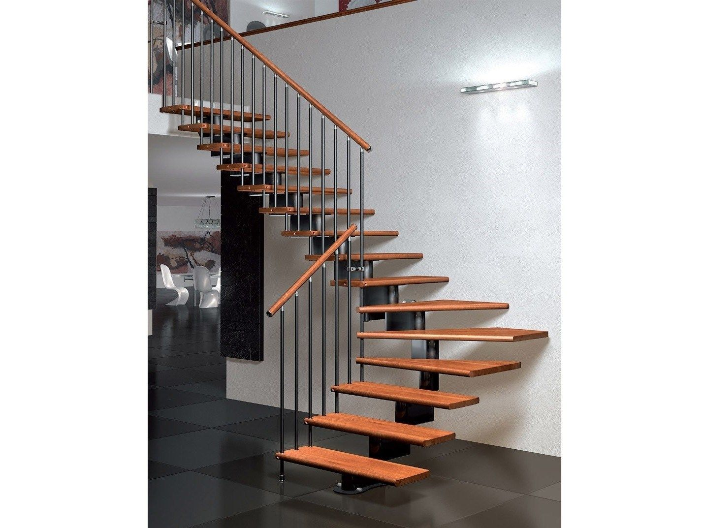 Best Self Supporting Modular Beech Open Staircase Nika Sc By 400 x 300